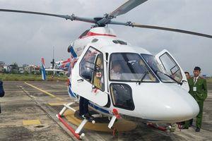 Cận cảnh Mi-171A2 và Ansat Nga cất cánh tại Việt Nam