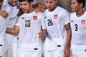Ngược dòng thành công lần hai, Myanmar xếp trên ĐT Việt Nam tại bảng A