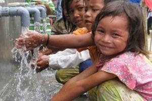 Phủ sóng nước sạch về nông thôn
