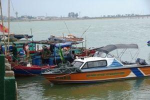 Bắt giữ phương tiện sử dụng kích điện đánh bắt hải sản trái phép
