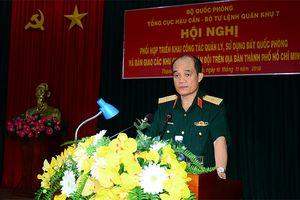 Nâng cao công tác quản lý, sử dụng đất quốc phòng trên địa bàn TP Hồ Chí Minh