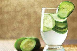 8 điều kỳ diệu đến với cơ thể khi uống nước dưa leo mỗi sáng