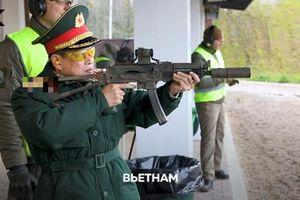 Sĩ quan Việt Nam vừa bắn thử loại súng nào ở Nga?