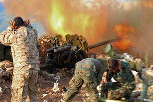 Quân đội Syria giao tranh ác liệt với khủng bố trên chiến trường Hama-Idlib