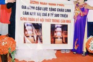 Món quà cưới 'khủng' của cặp đôi Việt khiến dân mạng choáng váng