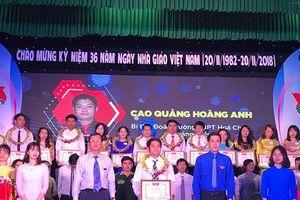 Thừa Thiên – Huế: Tuyên dương 34 giáo viên, giảng viên trẻ tiêu biểu năm 2018