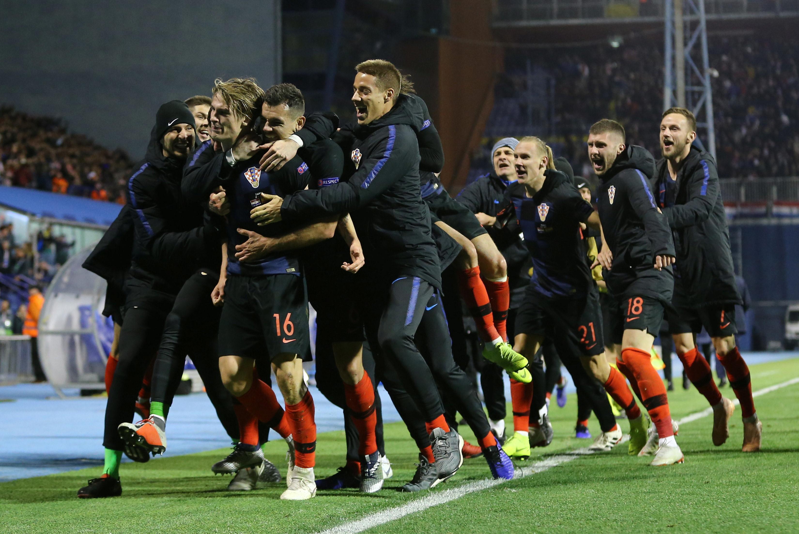UEFA Nations League: Hạ Tây Ban Nha, Croatia nuôi hy vọng vào bán kết