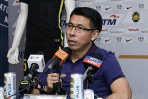 HLV tuyển Malaysia cảnh báo học trò trước trận gặp Việt Nam