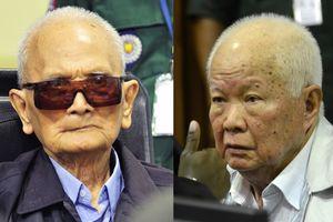 2 thủ lĩnh Khmer Đỏ thêm án vì tội diệt chủng