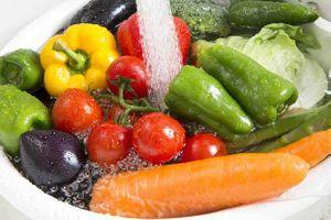 Loại bỏ hóa chất trong rau củ đúng cách
