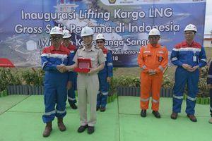 Pertamina vận chuyển chuyến hàng LNG đầu tiên từ Lô Sanga-Sanga