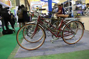 Ngỡ ngàng xe đạp 100 tuổi đắt ngang xế hộp