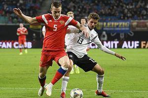 Đức thắng '3 sao' trước tuyển Nga