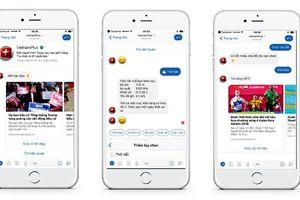 Báo điện tử VietnamPlus ra mắt chatbot kết nối với độc giả