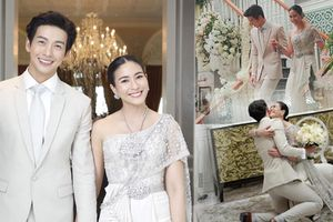 Đám cưới lộng lẫy của cặp 'chị - em' quyền lực nhất showbiz Thái Lan