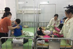 Thông tin mới nhất vụ hàng loạt trẻ mầm non Hà Nội đồng loạt nhập viện