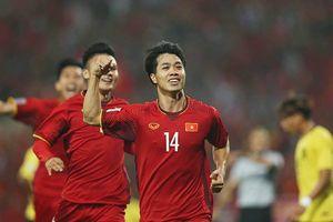 Việt Nam 2-0 Malaysia: Công Phượng, Anh Đức lập công, ĐT Việt Nam rộng đường tới ngôi vô địch