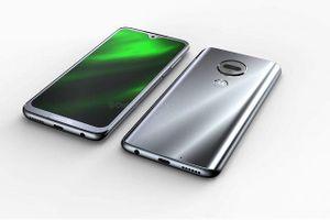 Lộ ảnh thiết kế Moto G7 với màn hình 'giọt nước', cảm biến vân tay và camera kép