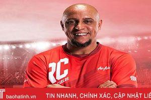 Roberto Carlos giao lưu tại Hà Nội trước trận Việt Nam - Malaysia