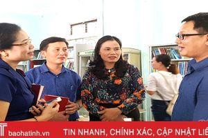 6 trường học ở Thạch Hà được ZHI - SHAN hỗ trợ các hoạt động thư viện