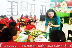 Cô giáo Vũ Thị Lý: 'Công việc tạo đam mê, lôi cuốn tôi mỗi ngày'
