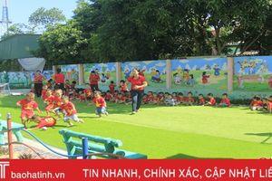 'Lạc' vào ngôi trường mầm non bậc nhất ở Nghi Xuân