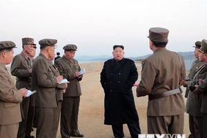Quan chức Hàn Quốc đánh giá vụ thử nghiệm vũ khí mới của Triều Tiên
