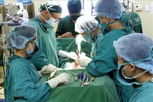 Bệnh viện Đa khoa Xanh Pôn phẫu thuật thành công cho 4 ca bệnh phù bạch mạch ở trẻ em