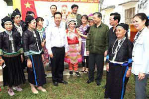 Bộ trưởng Bộ Công an Tô Lâm dự Ngày hội Đại đoàn kết toàn dân tộc tại Hà Giang