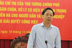 Hội nghị hoàn thiện Dự thảo Chỉ thị của Thủ tướng Chính phủ