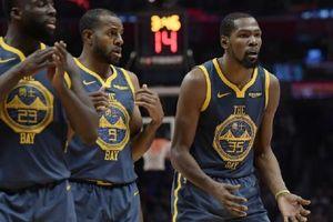 Warriors tiếp tục lún sâu khi thiếu vắng 'vị thần sức mạnh' Stephen Curry