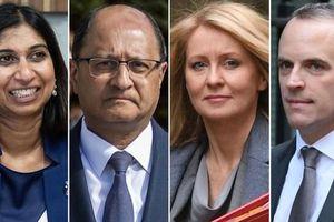 4 bộ trưởng Anh liên tiếp từ chức vì bất đồng Brexit