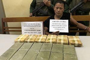 Ngang nhiên xách 12 bánh ma túy vào Việt Nam