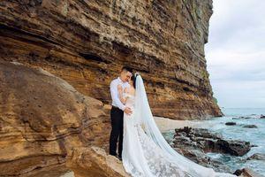 Kinh nghiệm chụp hình cưới đẹp mê ly của nàng dâu Lý Sơn!