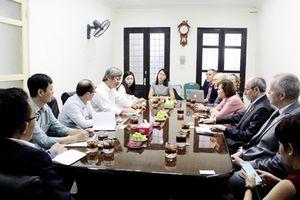 Tổng Cục trưởng Nguyễn Hồng Minh làm việc với Tập đoàn giáo dục PEARSON