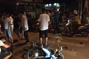 Phó giám thị trại giam bị hất xuống mương nước sau va chạm xe máy