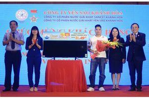 Trao giải thưởng chương trình 'Niềm tự hào thương hiệu Việt Nam' tại Hà Nội