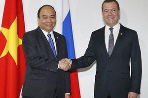 Thủ tướng Nga Dmitry Medvedev sẽ thăm chính thức Việt Nam