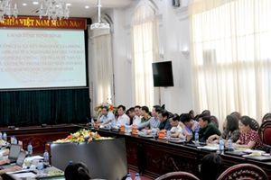 Đoàn công tác Ủy ban quốc gia phòng, chống AIDS, ma túy mại dâm làm việc tại Ninh Bình