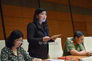 Quốc hội thảo luận tại hội trường về Dự thảo Luật Phòng, chống tác hại của rươu, bia