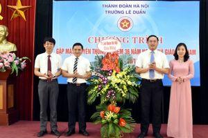 Trường Lê Duẩn: Gặp mặt truyền thống kỉ niệm 36 năm Ngày Nhà giáo Việt Nam 20/11