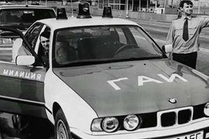Porsche, Mercedes hay BMW cũng chỉ để Cảnh sát Liên Xô đi... tuần tra