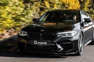 G-Power độ BMW M5 phô diễn sức mạnh sau khi nâng cấp