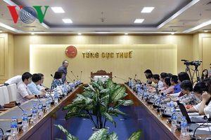 Tổng cục Thuế họp báo, phản hồi ý kiến của Tổng Kiểm toán Nhà nước