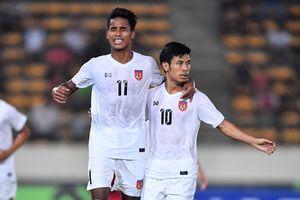 Myanmar ngược dòng thắng Lào, tranh ngôi đầu với tuyển Việt Nam