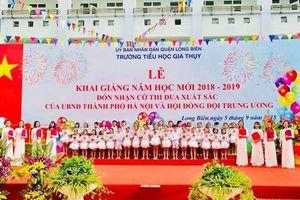 Trường TH Gia Thụy: Niềm tự hào của ngành Giáo dục Long Biên