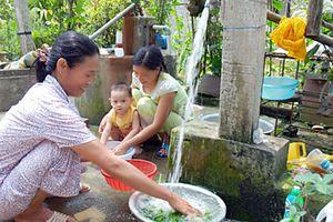 Đẩy nhanh tiến độ các dự án cấp nước sạch nông thôn
