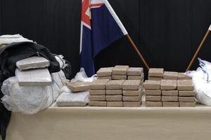 New Zealand thu giữ lượng cocaine lớn kỷ lục