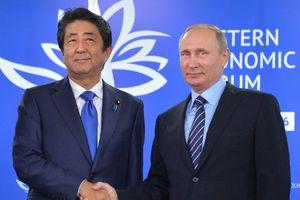 Nga - Nhật nỗ lực giải quyết tranh chấp lãnh thổ
