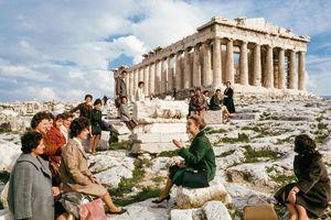 Vòng quanh châu Âu nửa sau thế kỷ 20 qua loạt ảnh màu hiện đại